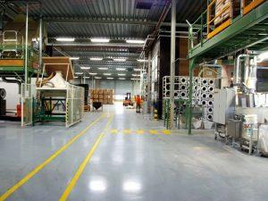 industriele gietvloer