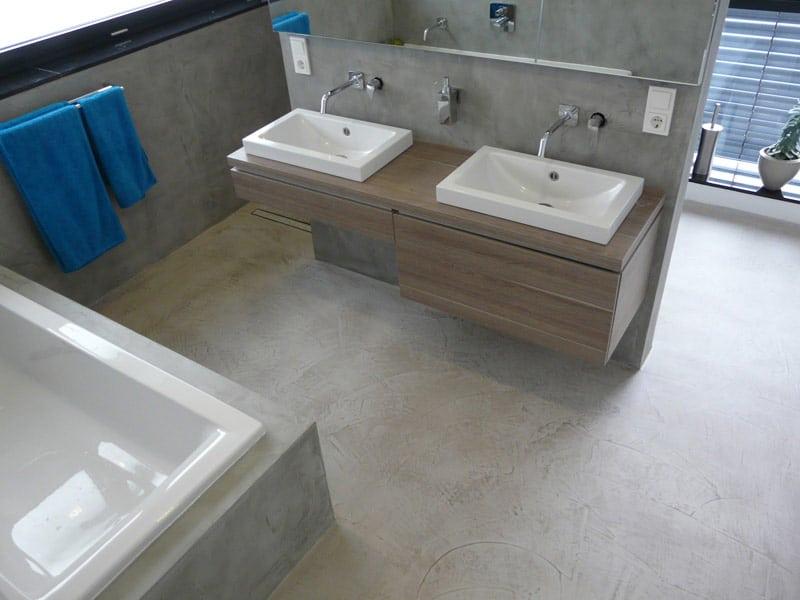 Vaak Beton Cire voor vloer of wand met industriële betonlook DY73
