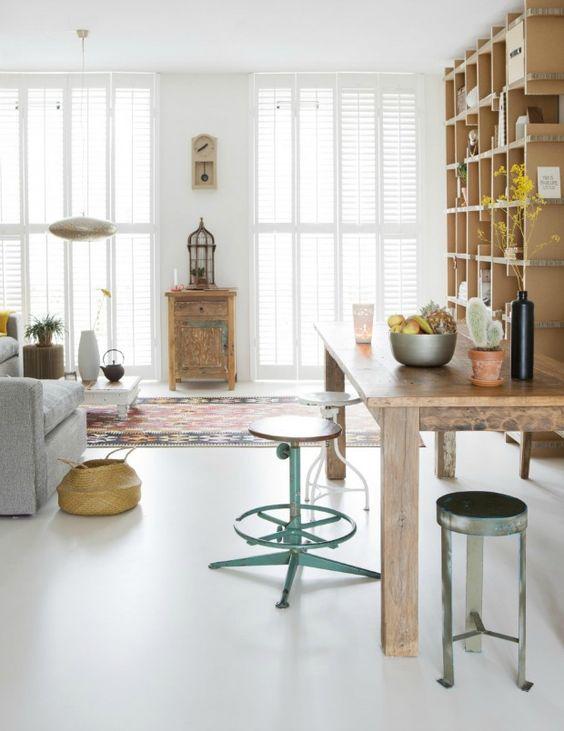 Gietvloeren in de woonkamer | Gietvloer.pro | Diverse gietvleoren